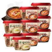 [동원] 양반죽 해장죽 9개세트 (김치순두부*3개+짬뽕*3개+콩나물바지락*3개)