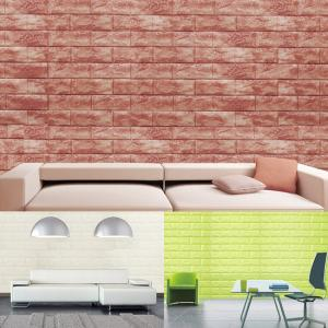 [토모]인테리어 단열폼블럭 벽돌 화이트(1mx2.4m)/단열벽지/보온벽지
