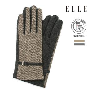 [ELLE] 롱사선 헤링본 여성장갑 ELW-16501 -백화점 A/S+정품케이스+무료배송