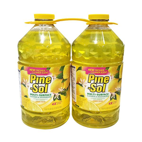 [코스트코] PINE SOL 다목적항균세제(레몬) 2.95L * 2