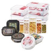 [코멕스] 냉장고정리 밀폐용기 선물세트 13종 특가모음