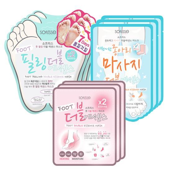 소프리스 필링3+종아리3+풋3 마스크+사은품증정!