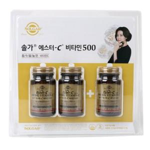 [메가마트] 솔가 에스터C 비타민 500 기획30캡슐*3병