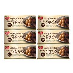 [만원의행복★장조림6캔][동원] 메추리알과 꽈리고추로 맛을 더한 장조림 90g*6캔