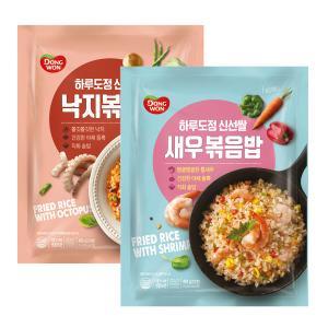 [동원] 하루도정 신선쌀 새우볶음밥 450g+★증정★낙지볶음밥 450g (유통기한:17.4.18)