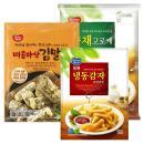 [동원] 매콤바삭김말이 700g+야채고로케 1kg+냉동감자 클링클컷 650g