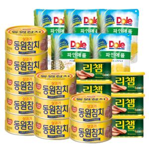 [동원] 라이트스탠다드 참치 85g*10캔+리챔 200g*5캔