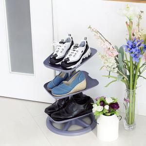 [리빙숲] 스탠드 신발장 3단