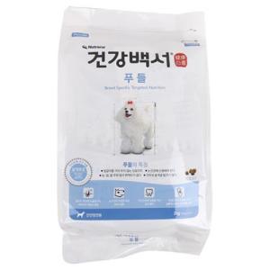 [메가마트] 건강백서푸들2.0kg2.0kg