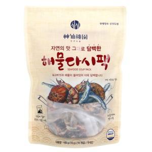 [메가마트] 신선도원 해물다시팩(담백한맛)160g(16g*10EA)