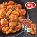 하림 춘천~식 순살 닭갈비 300g 3봉+생면 200g(증정)