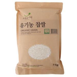 [메가마트] 유기농 찹쌀3kg/국내산3kg