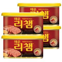 [만원의행복★리챔4캔][동원] 매운리챔 200gX4캔