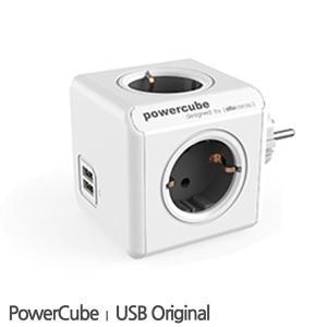 파워큐브 오리지널 USB타입 휴대용 멀티탭 (일반형)