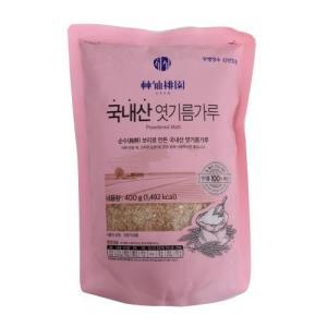[메가마트] 신선도원 국내산 엿기름가루 400 g400 g