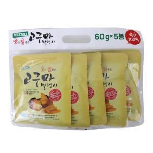 [메가마트] 맛젤 고구마 말랭이5입/봉