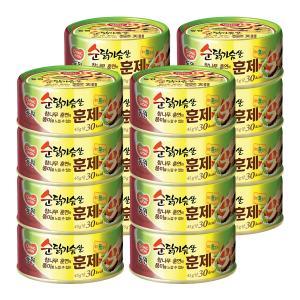 [동원]순 닭가슴살훈제 135gX16 (유통기한: ~18.08.02)