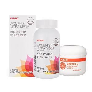 GNC 우먼스울트라메가(90) + GNC 비타민C 모이스처라이징 크림 증정