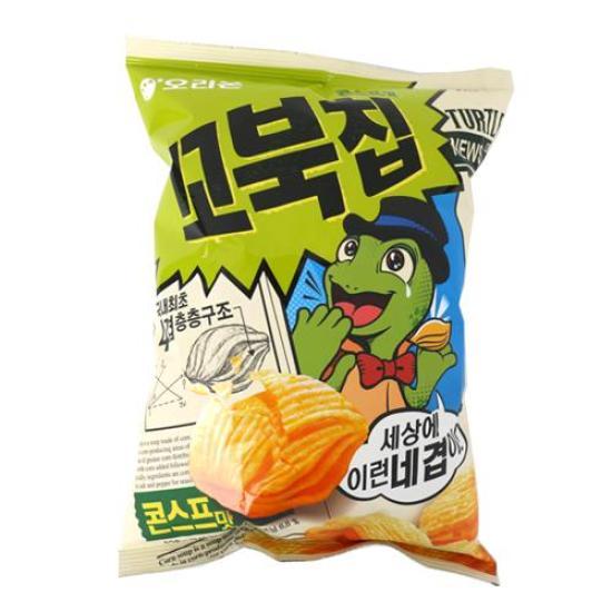 [메가마트] 오리온 꼬북칩 콘스프맛 136g