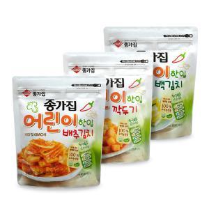 김치,포기김치,깍두기,열무김치,종가집