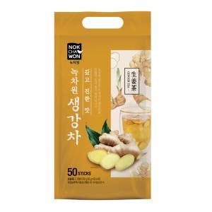 [녹차원]홍삼담은생강차 50스틱(개운한 맛)