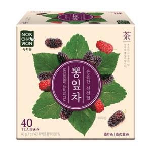 [녹차원]국내산뽕잎차 40티백(구수한 맛)
