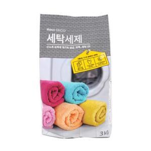 [메가마트] 하우즈데코 세탁세제3kg