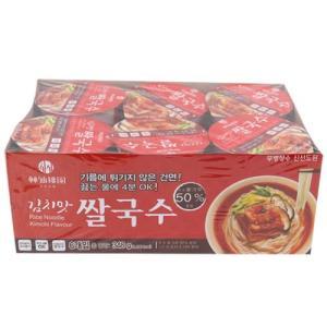 [메가마트] 신선도원 김치맛 쌀국수 6입58g*6ea