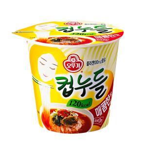 오뚜기 컵누들 매콤한맛(120kcal) 37.8g X 15개
