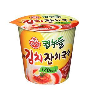 오뚜기 컵누들 김치 잔치국수(120kcal) 41g X 15개