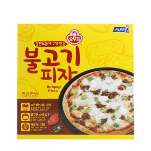 오뚜기 불고기 피자(냉동) 396g X 4개
