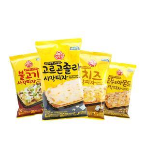 오뚜기 조각피자X 4개/불고기/고르곤/치즈/호두(냉동)