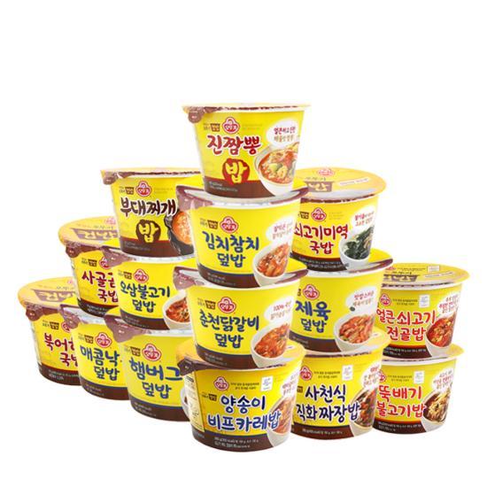 맛있는 오뚜기 컵밥 15종 (택 1 X 5개)