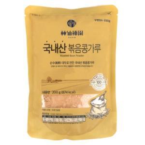 [메가마트] 신선도원 국내산 볶음콩가루 200 g200 g