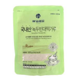 [메가마트] 신선도원 국내산 녹두빈대떡가루 200 g200 g