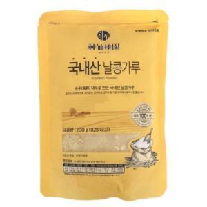 [메가마트] 신선도원 국내산 날콩가루 200 g200 g