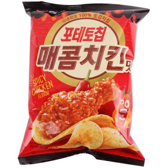 [메가마트] 농심 포테토칩 매콤치킨맛 60g