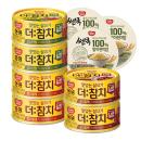 [동원] 더참치 135gx6캔(핫치폴레/소이갈릭/고소한쌈 각 2캔)+발아현미밥3입 증정