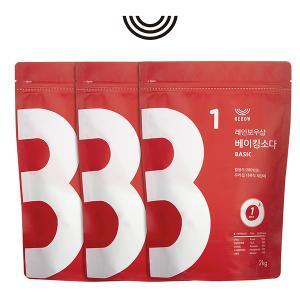 레인보우샵 베이킹소다 베이직 2kg 3개