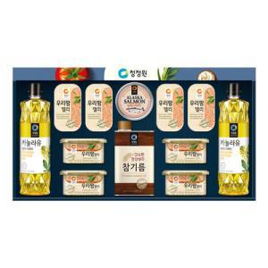 2018년 설선물세트 청정원5호x1/명절세트/햄세트/카놀라유