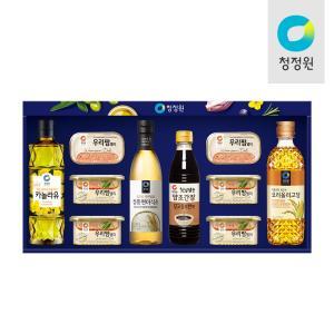선물세트,명절세트,카놀라유,식초,스팸,올리고당,설선물세트
