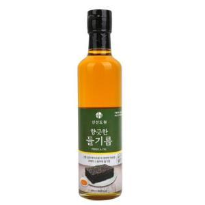 [메가마트] 신선도원 향긋한들기름300ml