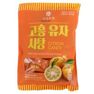 [메가마트] 신선도원 고흥 유자사탕300g