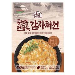 [메가마트] 롯데 공덕동 전골목 감자채전 450g