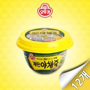 [오뚜기]계란야채죽(상온) 285g x 12개