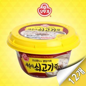 [오뚜기]오뚜기 새송이 쇠고기죽 (285gx12입)