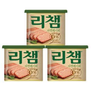 리챔 자연레시피340g*3캔