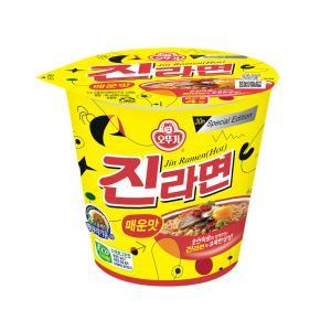 오뚜기 진라면 Cup매운맛 (종이컵) 65g(15입) X 1box