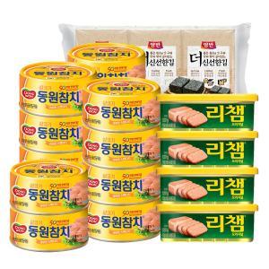 [동원]라이트85g*14+리챔 120g*4+더신선한김 6봉 증정