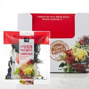 ★식이섬유 가득 다이어트★[기장물산]요리가 간편한 해초샐러드 비빔밥용 5팩